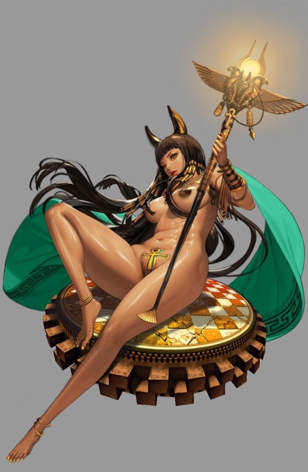 Cleopatra Nude